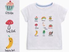 NEXT T-Shirt Top mit Flamingo Biene für Mädchen 12-18 Monate 86cm 16c