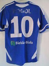 TS Podbeskidzie Bielsko-Biała Rogel Match Home Football Shirt Size Large /41713