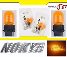 Nokya Light 3156 Orange 27W Nok6291 Two Bulbs Front Turn Signal Replacement OE