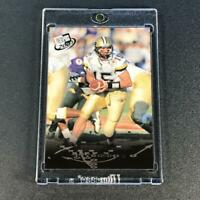 DREW BREES 2001 PRESS PASS #2 GOLD PARALLEL ROOKIE RC CHARGERS SAINTS