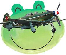 "Vintage Model Airplane Plans 18"" or 36"" .19-.33 Control line Yak 9 Plan & notes"