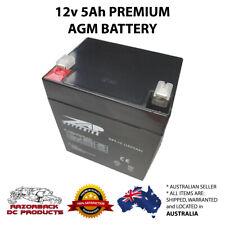 12v5Ah AGM/SLA Battery NP5-12 Premium High Quality, Fast Postage 5Ah, 5.5Ah