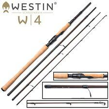 Westin W4 Spin M 270cm 7-30g - Spinnrute zum Spinnfischen, Reiserute, Angelrute