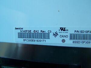 "GENUINE INNOLUX N140FGE-EA2 REV.C3 14.0"" LCD SCREEN HD+ 30 PIN"