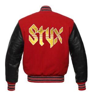 RARE Styx  Varsity jacket all sizes