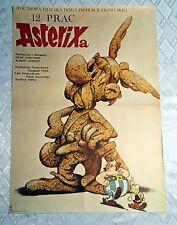 ** THE TWELVE TASKS OF ASTERIX ** 1SH Original Polish Poster Asterix & Obelix