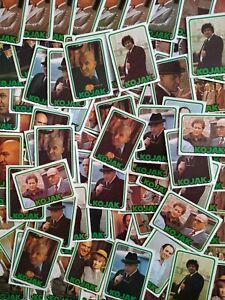 1975 Monty gum Kojak 100 cards many doubles