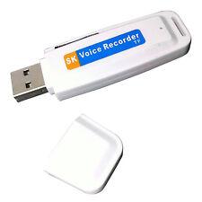 Digital Audio Voice Recorder Pen USB Flash Treiber TF-Einbauschlitz-Spion MA