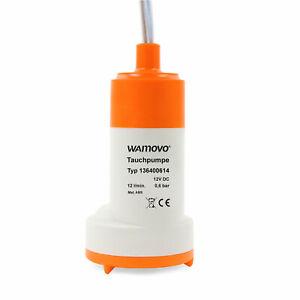 Wohnmobil Tauchpumpe 12v 0,6 bar 12 Ltr pro Minute 18-24 W Trinkwasserpumpe