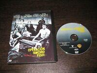 Operazione Sword Fish DVD John Travolta Hugh Jackman Halle Berry Don Cheadle