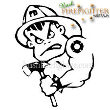 BAD BOY FIREFIGHTER DECAL