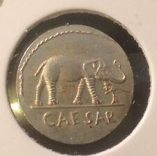 MONNAIE DE JULES  CESAR  Denier Denarius Repro Copy Fake Coin Piece