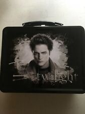 The Twilight Saga TWILIGHT EDWARD Metal Lunch Box w/ Thermos New