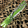 NEW KM Paintball Padded Tying Headband Head Band - Tora Green
