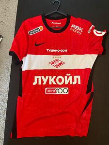Match Worn 20-21 Spartak Moscow Shirt Russia