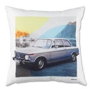 BMW Classic Cushion 2002 Pillow Throw Lounge Bed Genuine Lifestyle 80232463129