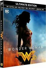 Blu Ray 4K + 3D + 2D : Wonder Woman - + Digital HD - NEUF