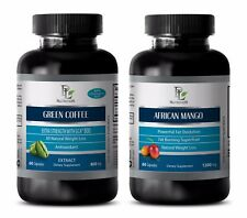 Antioxidant vitamin supplement - GREEN COFFEE EXTRACT – AFRICAN MANGO COMBO