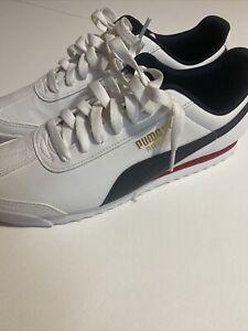 puma roma White Sneaker Men's Causal Shoes Size 11.5