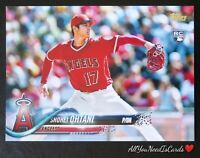 Shohei Ohtani 2018 Topps Complete Set Retail Variation Rookie RC #700 LA Angels