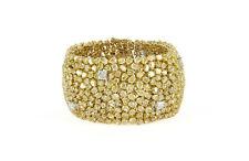 18kt Yellow Gold Fancy Yellow Diamond Bracelet