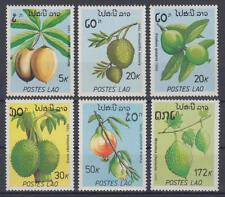 Laos (Postes Lao) - Michel-Nr. 1169-1174 postfrisch/** (Früchte / Fruits)