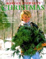 Martha Stewart's Christmas Entertaining Decorating & Giving  Holiday Book