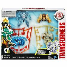 Transformers Robots in Disguise Mini-Con Figure 4 Pack
