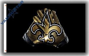 New Orleans Saints Football Gloves Memorable Flag 90x150cm 3x5ft best banner