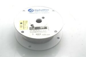 Alpha Wire 1172C 100 FT 22AWG Cable Communication 150V 7/30 Tinned Copper 2 Cond