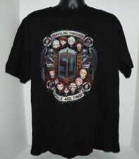 TeeFury Doctor Who 50th Anniversary Traveling Space Time T-Shirt Men's XL Black