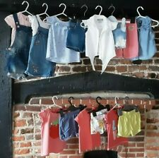 Baby Girl clothes Bundle 12-18 Months Summer Shorts & Tops, Gap H&M & more