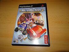 Micro Máquinas (PS2) nuevo no precintado