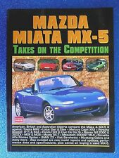 "MAZDA "" MX-5 ""  1999  Takes on the Competition  by R.M. CLARKE"