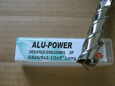 "YG5/8""x2 1/2"" LOCx 5"" OAL,ALU-POWER 3 Flute Carbide End Mill, YG-1 brand ""NEW"""