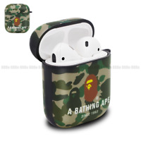 A Bathing Ape Bape ABC Camo Case Cover For Apple Airpods 1st & 2nd Generation