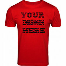 Custom Personalized Your Design in Top Quality T Shirt.