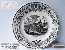 Plaque de Collection Assiette Avec Napoléon Motif ,Militaire ,Villeroy & Boch,Um