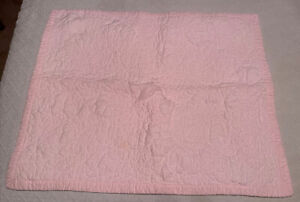 1 Simply Shabby Chic Rachel Ashwell Pale Pink Quilted Pillow Sham 2016