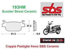 193HM - CP Pastiglie Freno Posteriori SBS Ceramic per HONDA SH 125i dal 2009 >