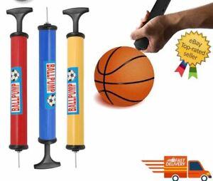 Football Pump Sports Ball Hand Pump With Inflating Needle Adaptor - Pump 30cm