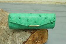 Lippenstift-Etui KRALLE - Echtes Krokodil Leder! IRV NEU! Lipstick case n951