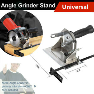 Angle Grinder Stand Cutting Positioning Slotting Seat Supporting Bracket Durable