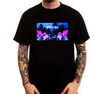 Sad Miami Alien Anime Vaporwave Edit Trendy Cotton Printed Men's T-Shirt Top Tee