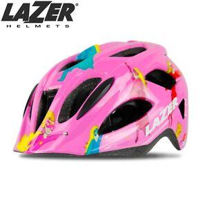 Lazer P'Nut Toddler Kids Bike Helmet XS 46-50cm 280g - Pink Supergirl