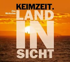 CD   Land in Sicht-Eine Werkschau 2016 2 CD Keimzeit  Digipack  (K187)