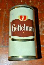 Gettelman 2 panel Flat Top Beer Can Bank Top