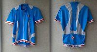Castelli Cycling Shirt Blue Italy Cycle Camiseta Size 2XL Men