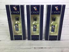 Canoe For Men Eau de Toilette Splash 0.5 fl oz by Dana New in Box 3 Pack Lot