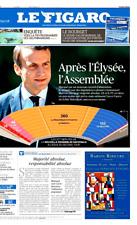 Le Figaro 19.6.2017 N°22661*MACRON à ASSEMBLÉE*Droit à l'erreur*INSOUMIS*Bourget
